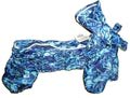 ZooAvtoritet Дождевик для собак Дутик, синий, размер L, спина 32-36см