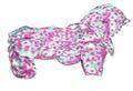 ZooPrestige Комбинезон для собак Дутик, малиново/зеленый, размер L, спина 32-36см