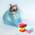 Сумка-сетка для мытья и груминга кошек и мелких животных