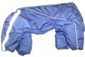 ZooPrestige Комбинезон утепленный, Шарпей, размер 4XL, синий, спина 55см