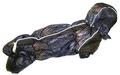 ZooPrestige Комбинезон на флисе для таксы, коричневый, размер ТБ1, спина 50см