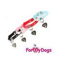 """ForMyDogs Ошейник для собак из серии """"York"""" розовый, размер 1*26см"""