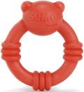 "Beeztees Игрушка для собак ""Sumo Mini Team"" Кольцо красное 9,5*10,5см"