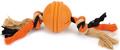 "Beeztees Игрушка для собак ""Sumo Fit Ball"" Мяч на канате 31,8*7,9*7,9см"