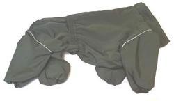 ZooTrend Дождевик для больших пород собак, болотный, размер 5XL, спина 60см