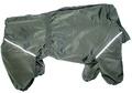 ZooTrend Дождевик для больших пород собак, болотный, размер 6XL, спина 65см