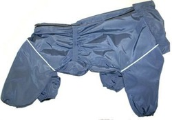 ZooTrend Комбинезон для больших пород собак, серо/синий, размер 6XL, спина 73см