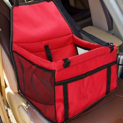 Al1 Автокресло для собак и кошек, 45х30х25 см, цвет красный