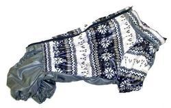 LifeDog Дождевик для французского бульдога, серый, спина 40/44см