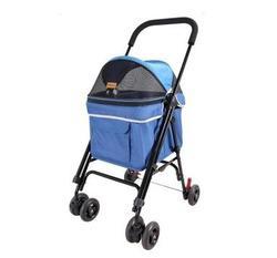 IBBI Коляска Astro Mini Pet Buggy синяя, 80 х 90 х 32 см