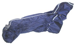 ZooPrestige Дождевик для таксы, синий, размер ТС1, спина 45см