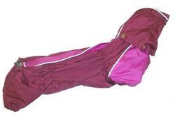 ZooPrestige Дождевик для таксы, бордовый, размер ТМ1, спина 36см