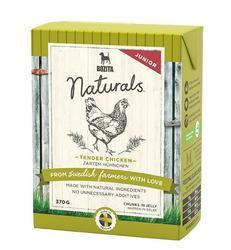 Bozita Naturals кон.для щенков и юниоров кусочки в желе с Курицей 370г