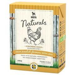 Bozita Naturals кон.для собак кусочки в желе с Курицей и рисом 370г