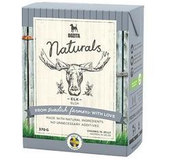 Bozita Naturals кон.для собак кусочки в желе с Лосем 370г