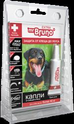 М.Бруно Капли инсектоакарицидные Eхtra для собак более 40кг/ 4,3мл с 5-ти месячного возраста