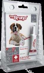М.Бруно Капли Плюс инсектоакарицидные для собак более 40кг/4,3мл с 3-х месячного возраста