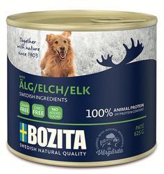 Bozita Косервы для собак мясной паштет с Лосем 625г