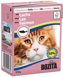 Bozita Консервы для кошек кусочки в соусе Лосось 370г