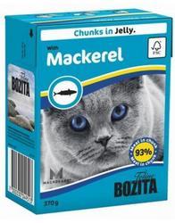 Bozita Консервы для кошек кусочки в желе Скумбрия 370г