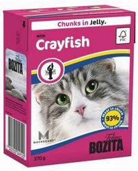 Bozita Консервы для кошек кусочки в желе Лангуст 370г