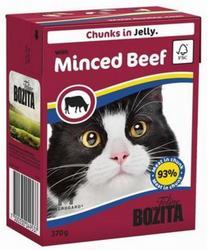 Bozita Консервы для кошек кусочки в желе Рубленая Говядина 370г