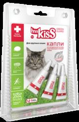 М.Кисс Грин Гард Капли репеллентные для крупных кошек более 2 кг, 2,5мл