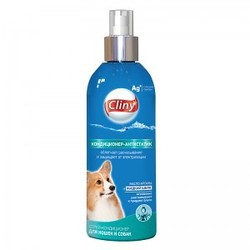 Cliny Кондиционер - Антистатик спрей для кошек и собак 200мл
