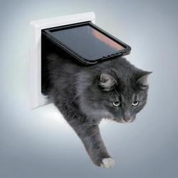 TRIXIE Дверца для кошек и мелких собак Free Cat de Luxe 17,7х18,5см