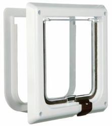 TRIXIE TRIXIE Дверца для кошки 16,5см х 17,4см, с 2 функциями, белая