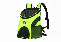 Al1 Рюкзак для собак и кошек желтый, размер М - 35x28x40см
