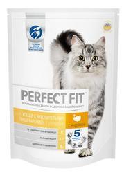Перфект Фит Для чувствительных кошек Индейка, сух.