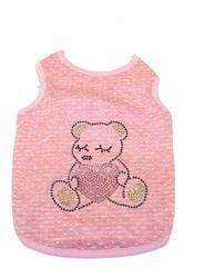 "4 My Pets Майка для собак ""Медвежонок"" розовая, размер XL"