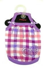 Puppia Майка для собак Романс фиолетовая, размер S
