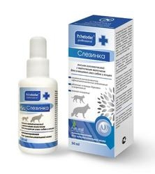 Пчелодар Слезинка лосьон гигиенический для очищения глаз собак и кошек 50мл