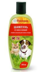 Пчелодар Шампунь Универсальный для собак и кошек от блох и клещей 250 мл