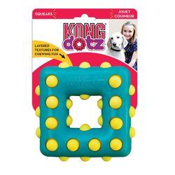 Kong Игрушка для собак Dotz квадрат