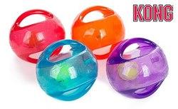 Kong Игрушка для собак Джумблер Мячик L/XL 18 см синтетическая резина