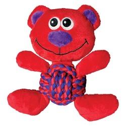 Kong Игрушка для собак Weave Knots Мишка средний 22 х 20 см