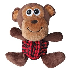 Kong Игрушка для собак Weave Knots Обезьянка средняя 22 х 20 см