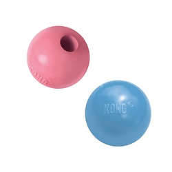 Kong Puppy игрушка для щенков Мячик под лакомства 6 см