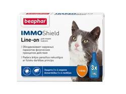 Beaphar Капли IMMO Shield для кошек 3 пип