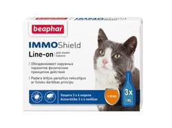 Beaphar Капли IMMO Shield для кошек 3 пип