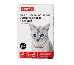 Beaphar Ungezieferband ошейник для кошек от блох (5 мес.) и клещей (2 мес.) 35см с 6 месяцев