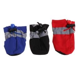 Al1 Ботиночки для собак синие, размер №4