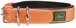 Hunter Ошейник для собак Convenience Comfort 40(27-35 см)/2,4 см мягкая горловина водоотталкивающий материал, оранж неон