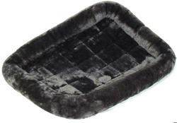 MidWest Лежанка Pet Bed меховая серая