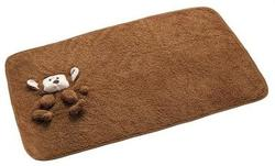 Hunter Плед-одеяло для щенков Madison, обезьянка 100x65 см флис коричневый
