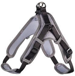 Hunter Шлейка для собак Neopren Vario Quick нейлон/неопрен черный/серый