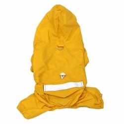 Al1 Дождевик для маленьких собак, желтый, размер М